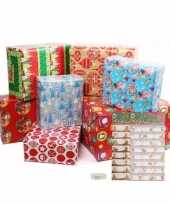 Kerst cadeaupapier pakket l