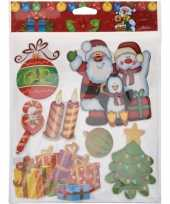 Kerst decoratie stickers 3d type 1