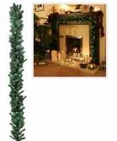 Kerst dennen slinger groen 270 cm