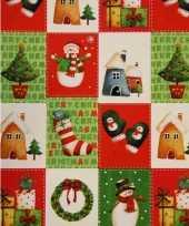 Kerst kadopapier print 7