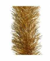 Kerst lametta guirlande goud 10 x 270 cm kerstboom versiering decoratie