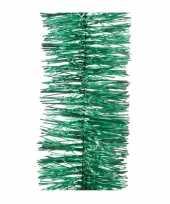 Kerstboom tinsel slinger groen 270 cm