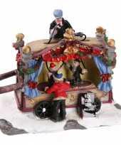 Kersthuisje puppet show kraam