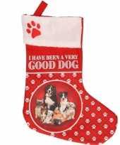 Kerstsokken voor huisdieren i have been a good dog