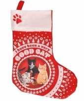 Kerstsokken voor huisdieren katten kerstsokken 37 cm