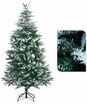 Kunst kerstboom met sneeuw 180 cm