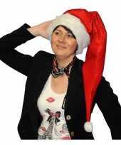 Lange kerstmutsen voor dames en heren