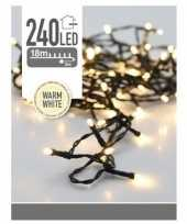 Led kerstverlichting warm wit 240 lampjes 10174298