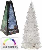 Led licht kerstboompje 27 cm