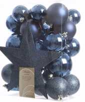Mystic christmas kerstboom decoratie set 33 delig 10097513