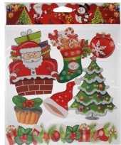 Raamstickers kerstsfeer type 4