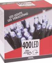 Voordelige kerstverlichting helder wit buiten 400 lichtjes